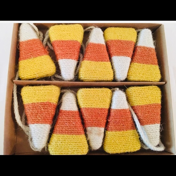hallow home Other - Candy Corn Twine 6 ft garland Halloween Harvest